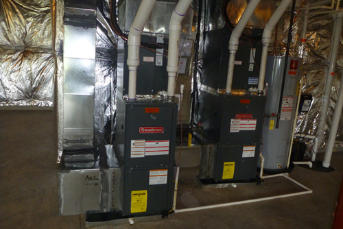 Gas-furnace inspection